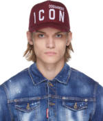 Dsquared2 Red Be 'Icon' Cap