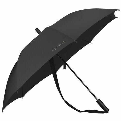 Esprit Damen Regenschirm Slinger AC, schwarz, 4.5cm x 73.5cm