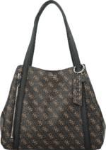 GUESS, Naya Shopper Tasche 33 Cm in mittelbraun, Shopper für Damen