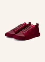 Giuseppe Zanotti Design Samt-Sneaker Blabber rot