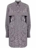 Givenchy 4G Kleid in A-Linie - Schwarz
