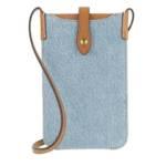Handyhüllen Phone Case Tech Case Fabric blau