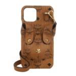 Handyhüllen Rabbit Phone Case W Strap cognac