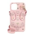 Handyhüllen Rabbit Phone Case W Strap pink