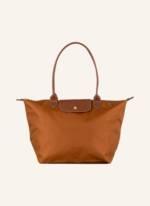 Longchamp Shopper Le Pliage L braun