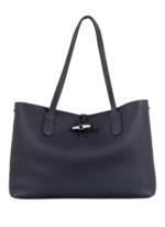 Longchamp Shopper Roseau L blau