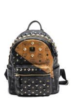 MCM Vintage-Rucksack Stark MM, 26,5x27x14cm bunt