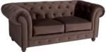 Max Winzer Chesterfield-Sofa Old England, im Retrolook, Breite 192 cm