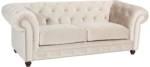 Max Winzer Chesterfield-Sofa Old England, im Retrolook, Breite 218 cm