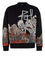 Palm Angels Pullover schwarz