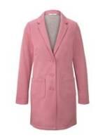 TOM TAILOR Damen Jersey Blazermantel, rosa, unifarben, Gr.XL