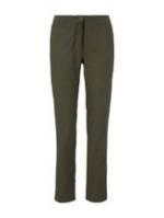 TOM TAILOR Damen Slim Chino Hose mit elastischem Bund, grün, Gr.42/32