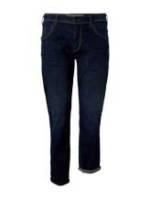 TOM TAILOR Herren Slim Fit Jeans mit Taschendetails, braun, Gr.48/34
