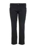 TOM TAILOR Herren Slim Fit Jeans mit leichter Waschung, schwarz, Gr.46/32