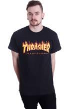 Thrasher - Thrasher Flame - - T-Shirts
