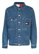 Tommy Jeans Jeansjacke blau
