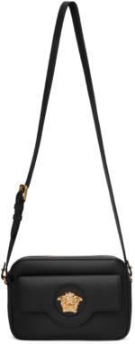 Versace Black 'La Medusa' Camera Bag