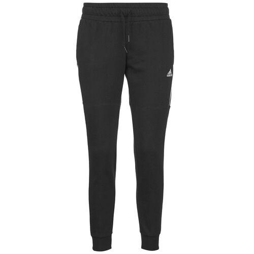 adidas Essentials Cut 3-Streifen Jogginghose Damen, schwarz, S