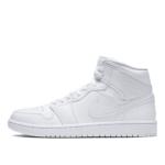 Air Jordan 1 Mid Triple White 2.0